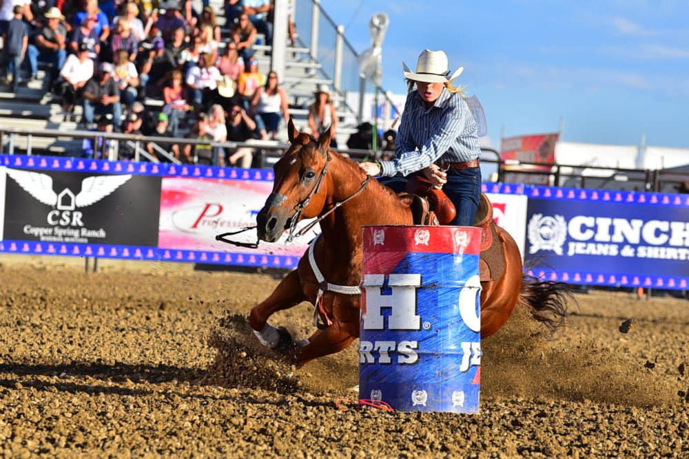 "The National High School Rodeo Association's finals rodeo is underway in Rock Springs, Wyo. ""We have kids from 43 states, five Canadian provinces, Australia and Mexico,"" says Gary Hawkes, an official with the association. (Courtesy of Acentric Rodeo and Photography)"