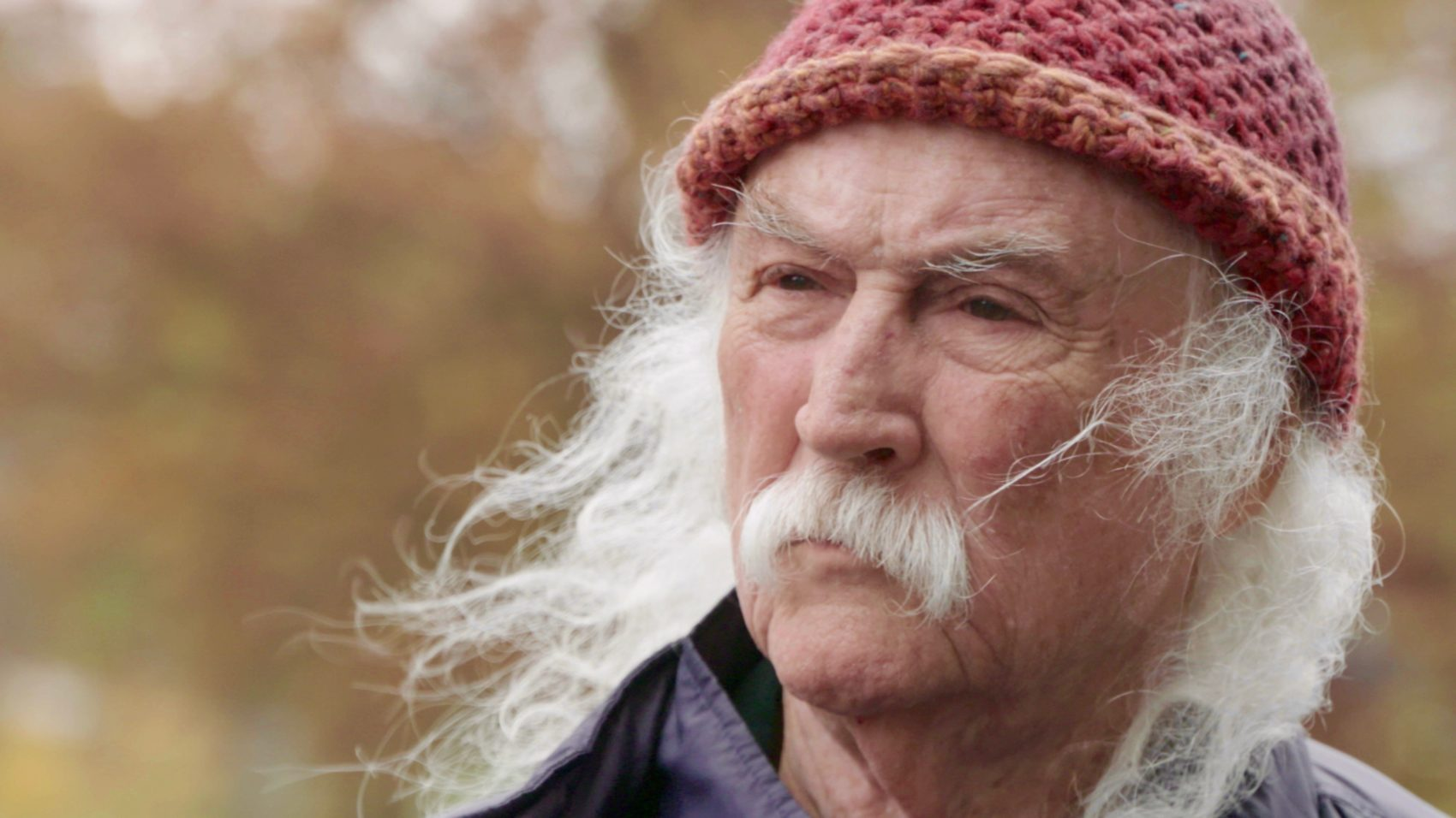 """I've hurt a lot of people. I've helped a lot more. I just have to be able to look at it and understand it and learn from it,"" David Crosby tells Here & Now. The musician's life is the focus of the new documentary ""David Crosby: Remember My Name."" (Courtesy of Sony Pictures Classics)"