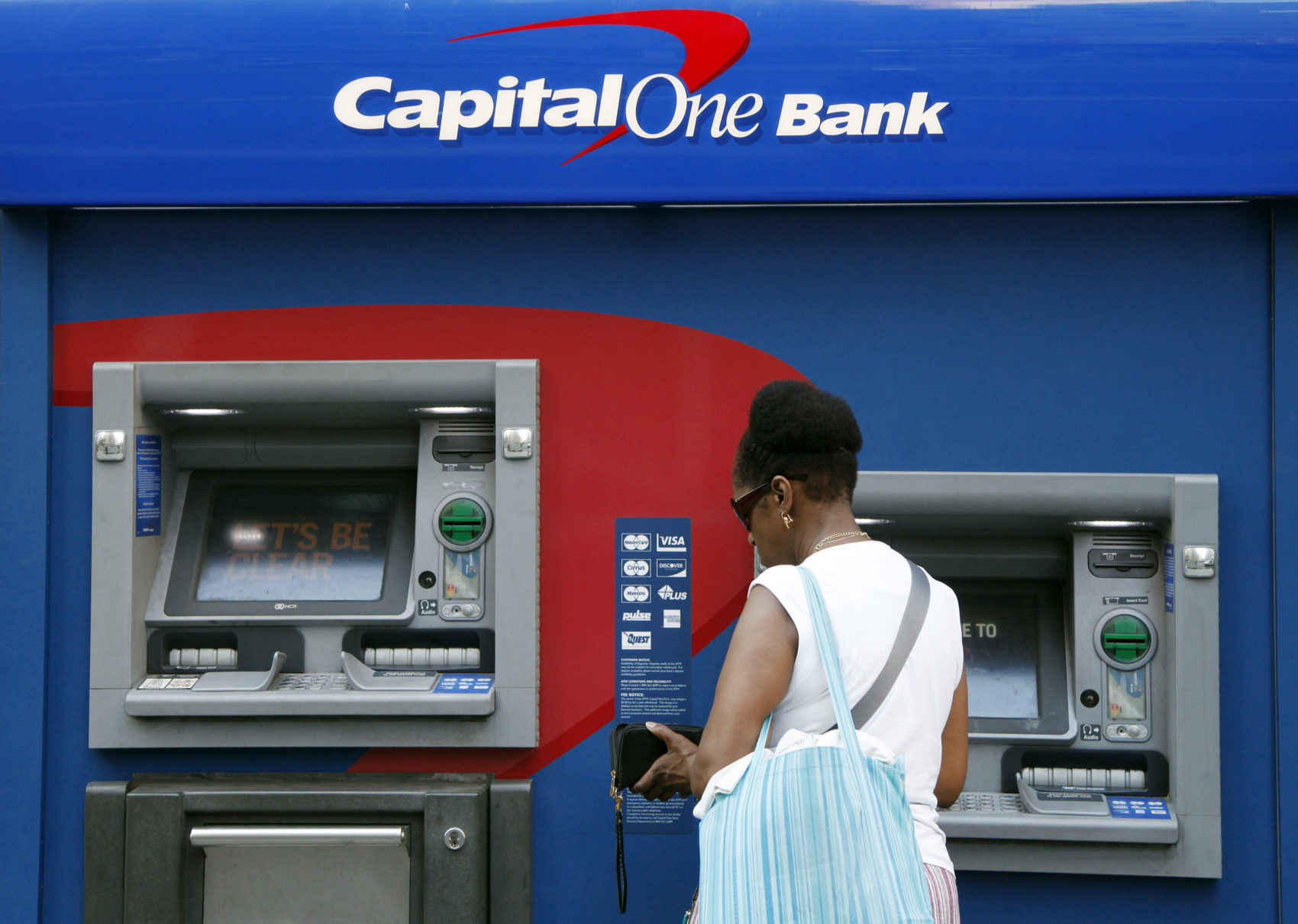 Capital one atm withdrawal credit card