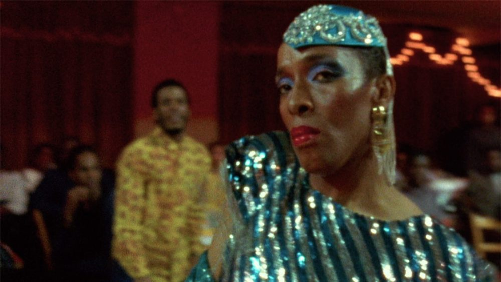 "Pepper LaBeija in a still from Jennie Livingston's 1990 ""Paris Is Burning."" (Courtesy Janus Films)"