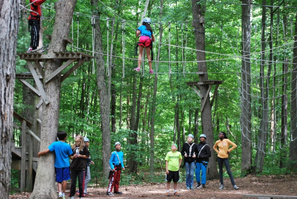 Kids at YMCA Camp Pinewood in Twin Lake, Michigan (Camp Pinewood/Flickr)