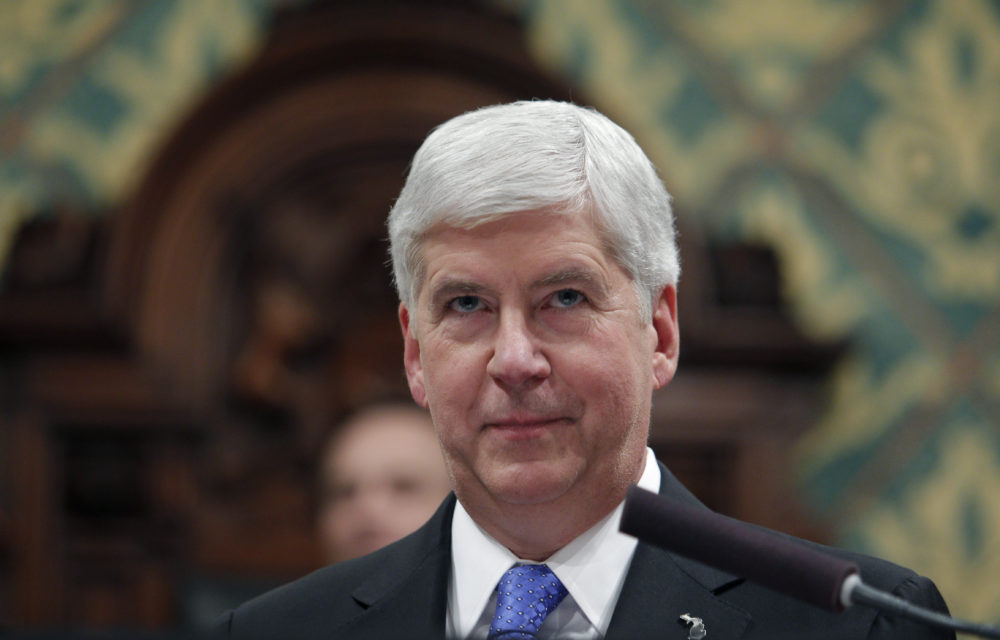 Former Michigan Gov. Rick Snyder (Al Goldis/AP)