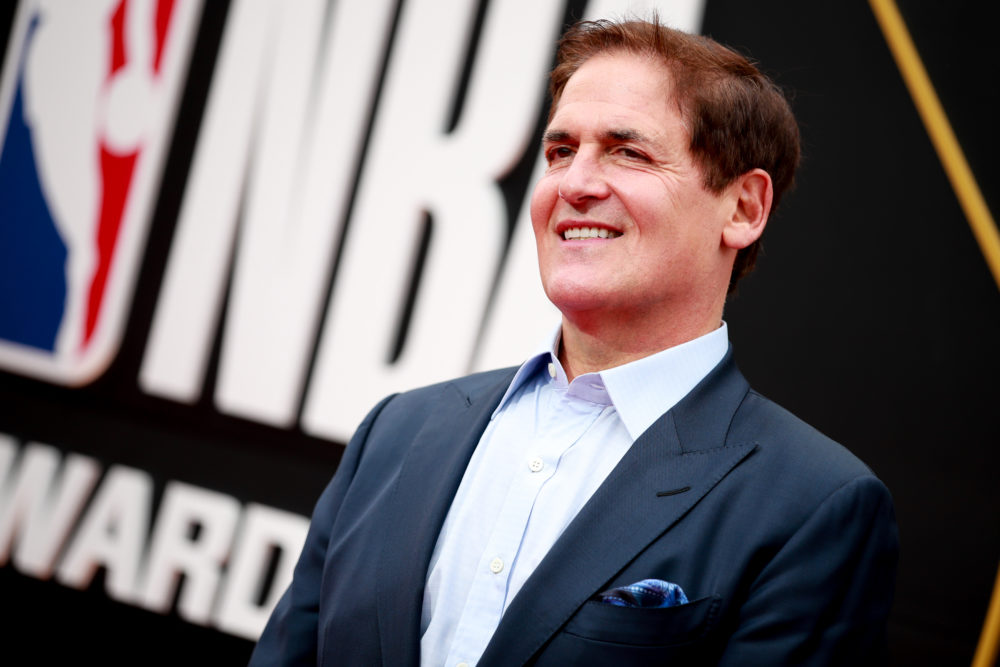 Mark Cuban attends the 2019 NBA Awards at Barker Hangar on June 24, 2019 in Santa Monica, Calif. (Rich Fury/Getty Images)