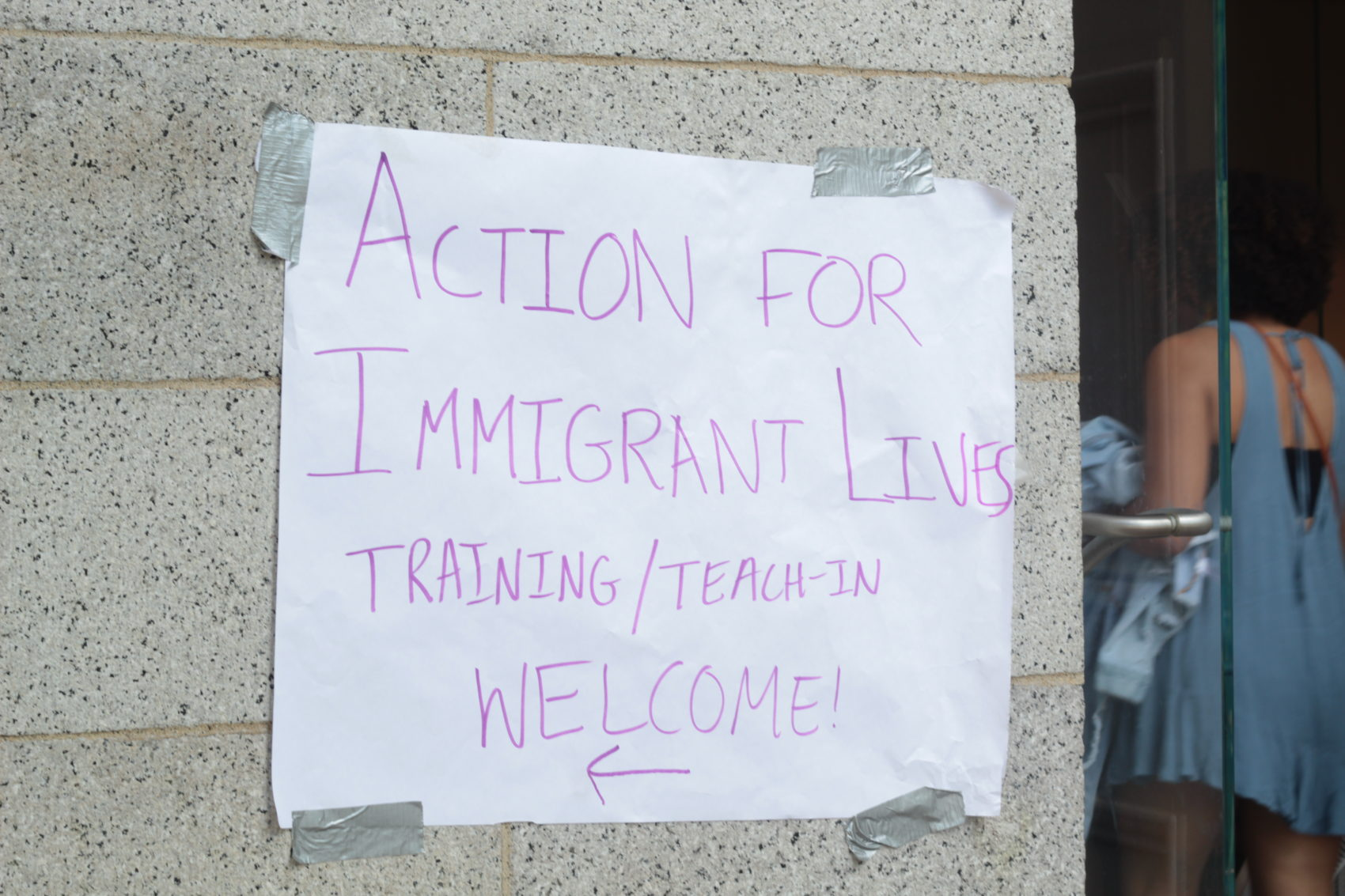 On Eve Of Expected ICE Raids, Mass  Residents Organize And