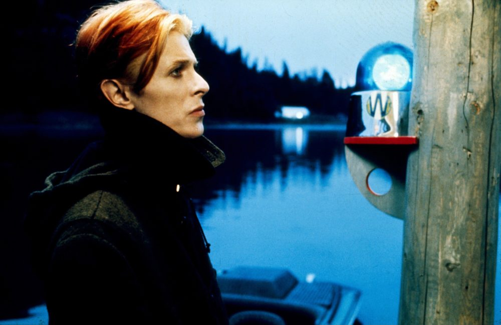 "David Bowie in the 1976 film ""The Man Who Fell to Earth."" (Courtesy Cinema 5 Distributing/Photofest)"