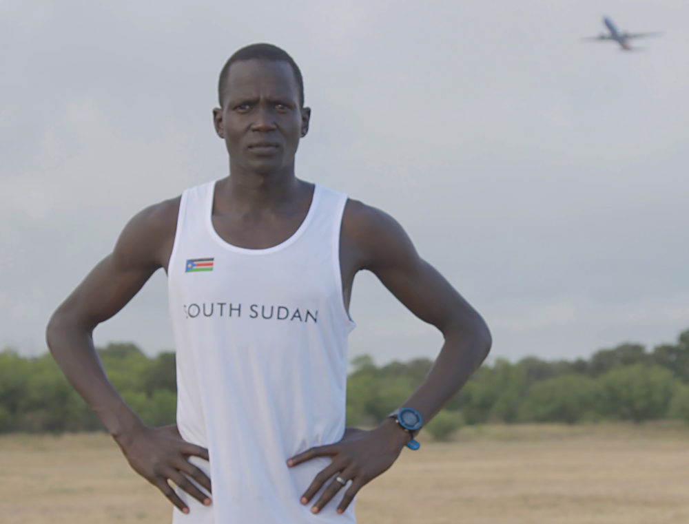 Marathoner Guor Mading Maker, also known as Guor Marial. (Courtesy Woods Hole Film Festival)