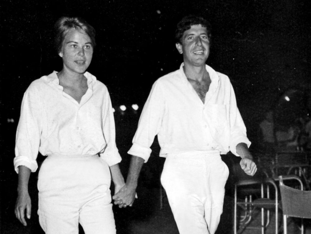Marianne Ihlen and Leonard Cohen. (Courtesy Roadside Attractions)