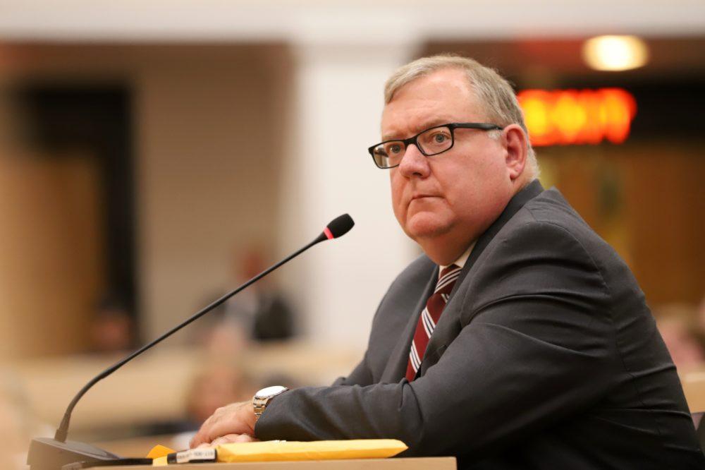 Former Registry of Motor Vehicles Merit Rating Board Director Thomas Bowes (Sam Doran/State House News Service)