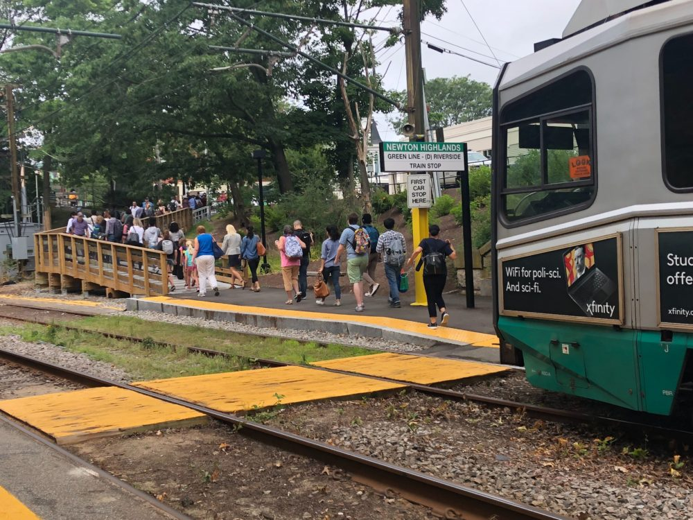 MBTA Says Operator Caused Latest Green Line Derailment | WBUR News