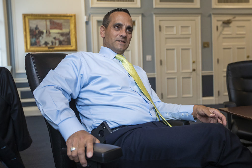 Somerville Mayor Joseph Curtatone (Jesse Costa/WBUR)
