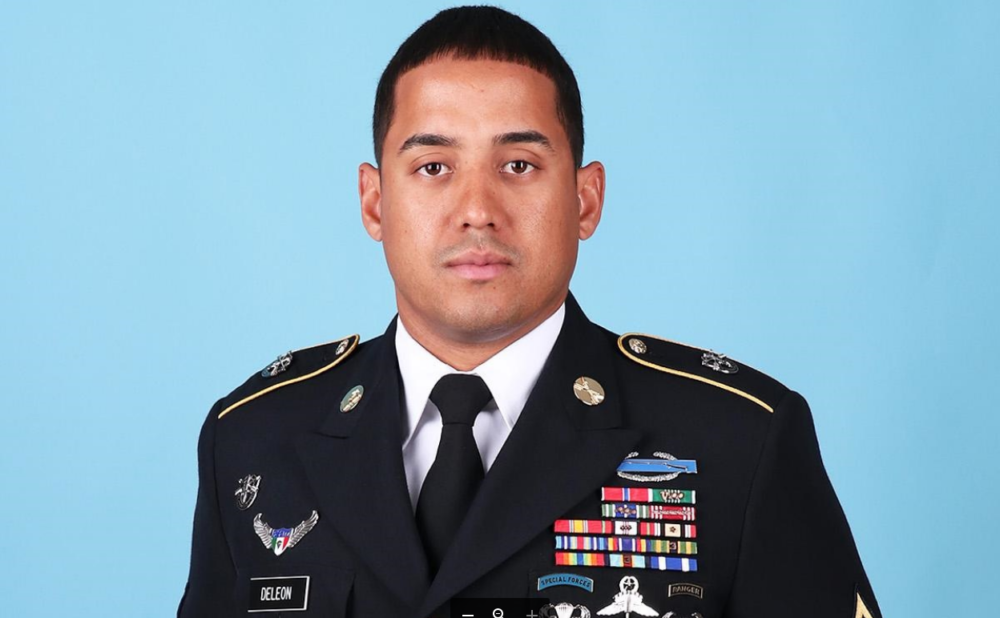 U.S. Special Forces Master Sgt. Luis F. Deleon-Figueroa. (Courtesy U.S. Army Special Operations Command)
