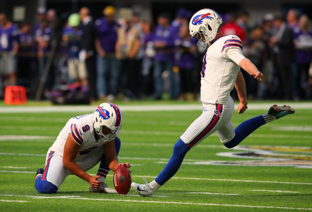 NFL veteran Stephen Hauschka. (Adam Bettcher/Getty Images)