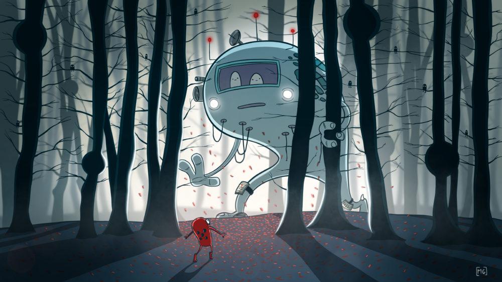 """A Walk In The Woods"" by u/MattGDrawsThings"