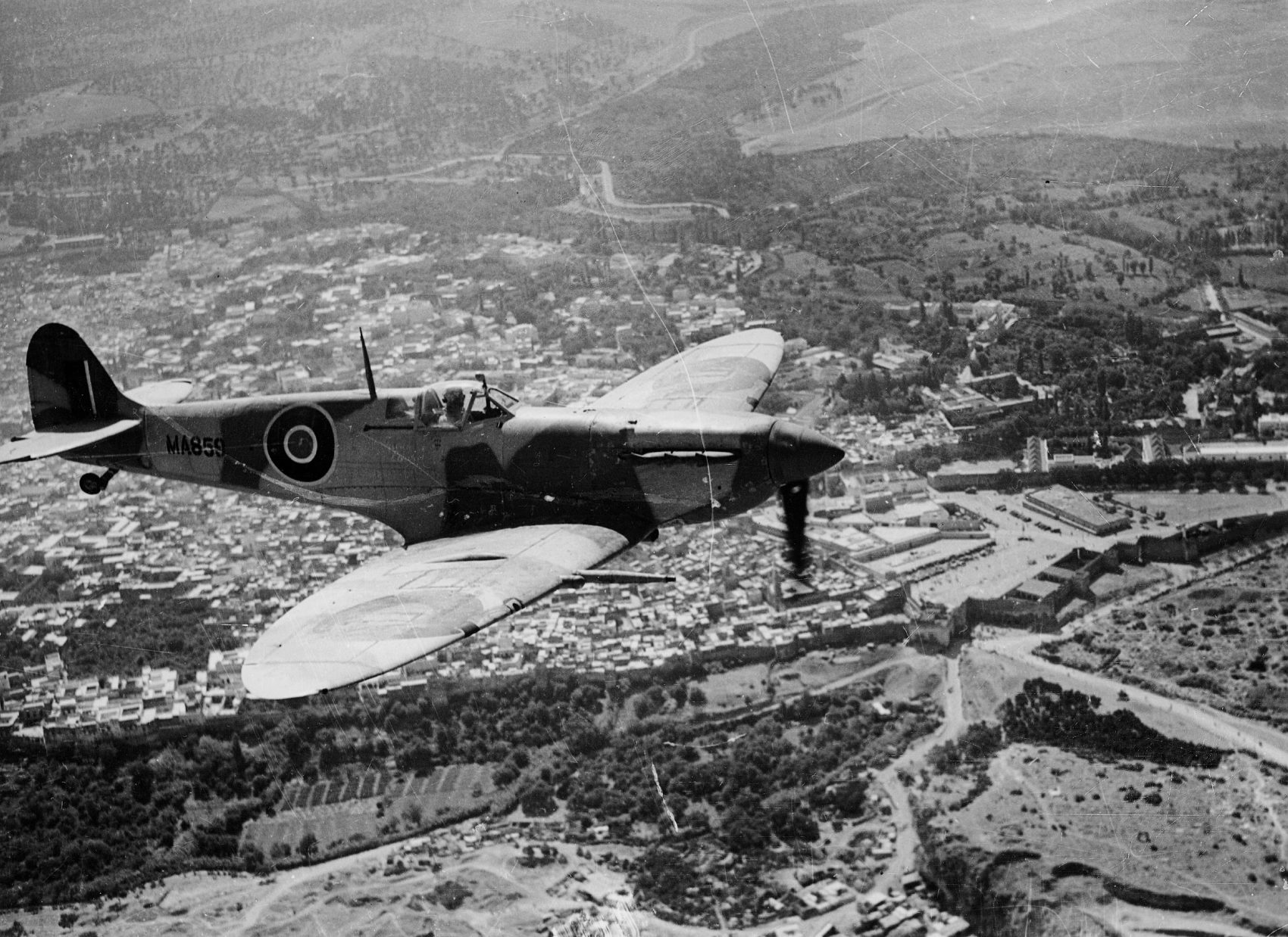 The Most Beautiful Machine To Fly': Iconic Spitfire Takes