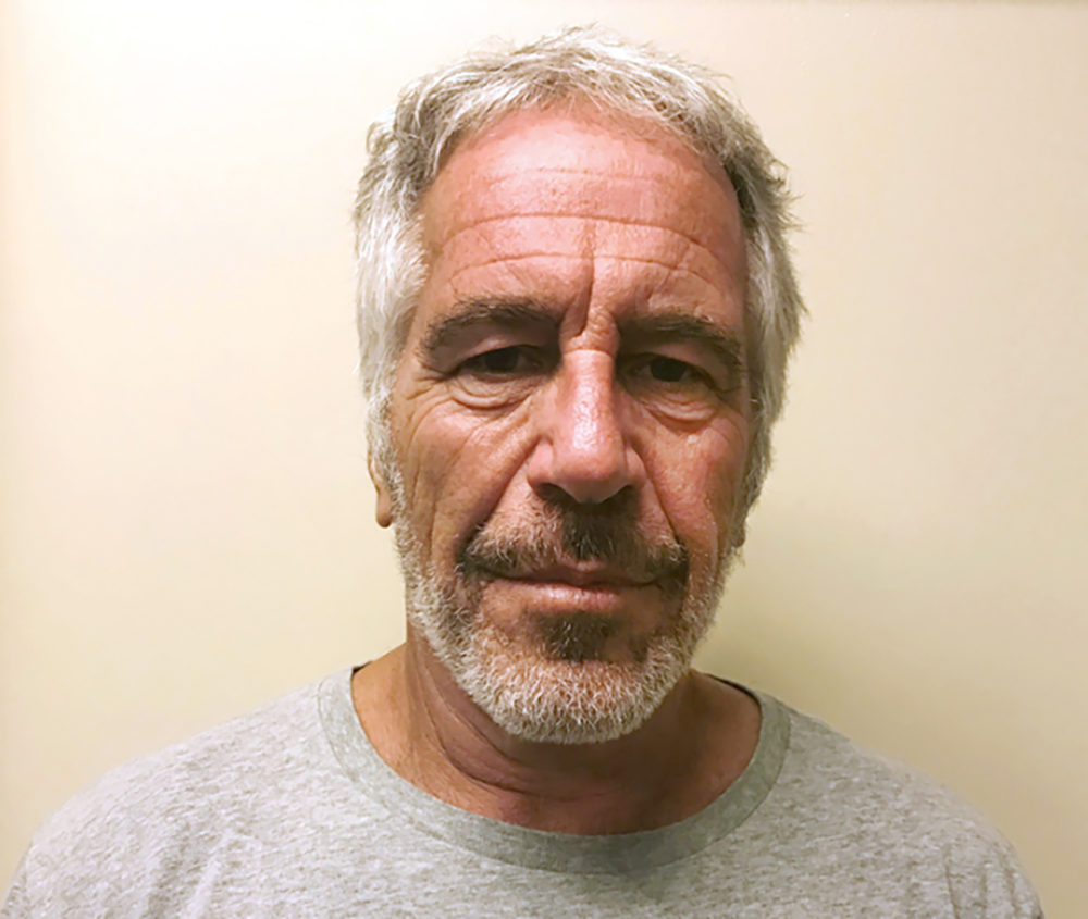 This March 28, 2017 file photo, provided by the New York State Sex Offender Registry shows Jeffrey Epstein. (New York State Sex Offender Registry via AP)