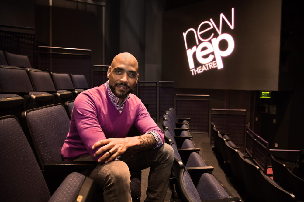 Michael J. Bobbitt joins New Repertory Theatre as artistic director. (Courtesy  Andrew Brilliant/Brilliant Pictures)