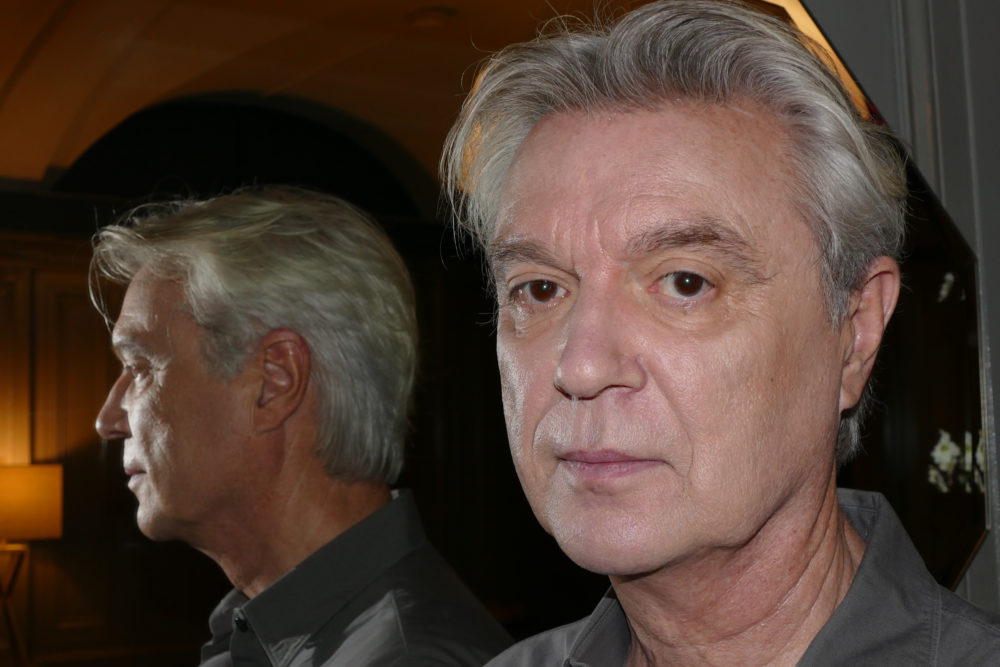 Musician David Byrne. (Paul Robicheau for WBUR)