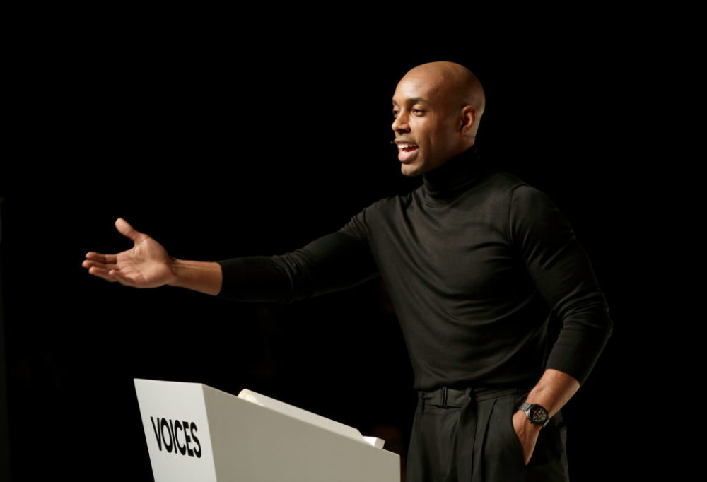 Casey Gerald speaks on stage during #BoFVOICES in Oxfordshire, England.  (John Phillips/Getty Images for The Business of Fashion)
