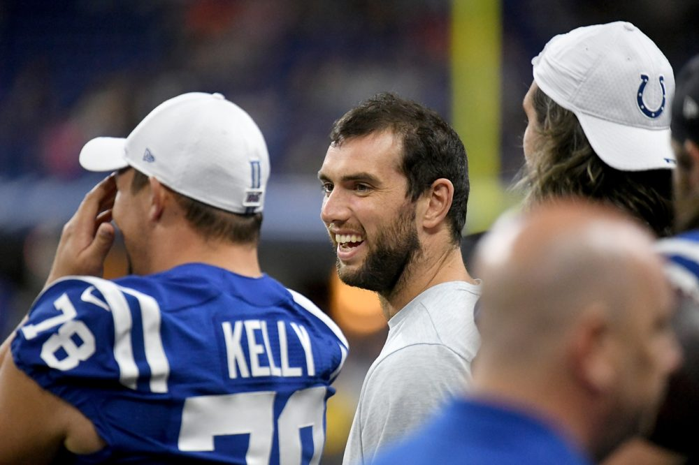 Indianapolis Colts quarterback Andrew Luck stunned the football world last week with the announcement of his retirement at age 29. (Bobby Ellis/Getty Images)