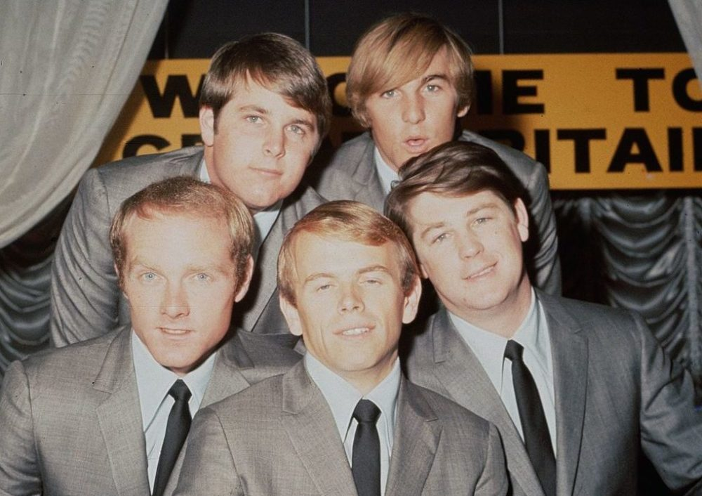 The Beach Boys in 1964. (Hulton Archive/Getty Images)
