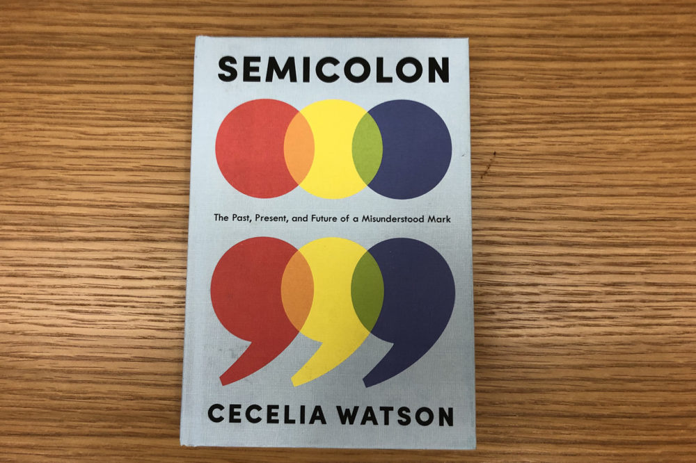 """Semicolon,"" by Cecelia Watson. (Alex Schroeder/On Point)"