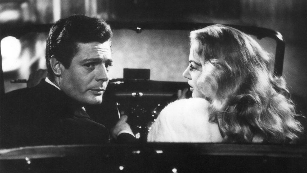 """A still from Federico Fellini's """"La Dolce Vita."""" (Courtesy of the Brattle Theatre)"""