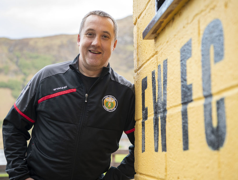 Fort William FC Manager Russell MacMorran. (Iain Ferguson, The Write Image)