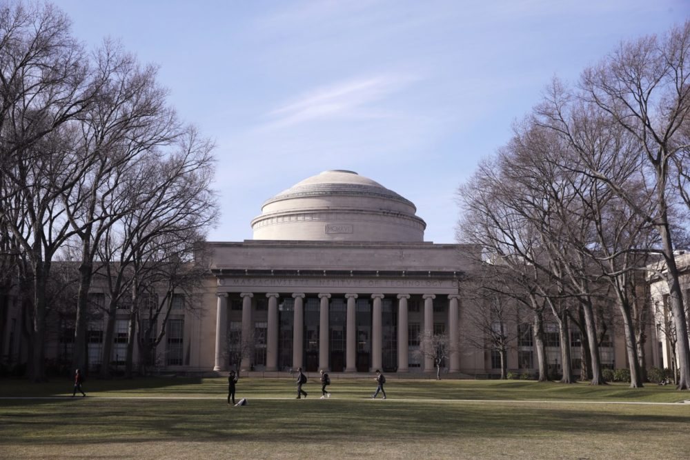 The Massachusetts Institute of Technology campus in Cambridge. (Charles Krupa/AP)