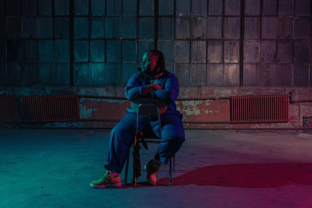Boston rapper Oompa. (Courtesy Ally Schmaling and OJ Slaughter)