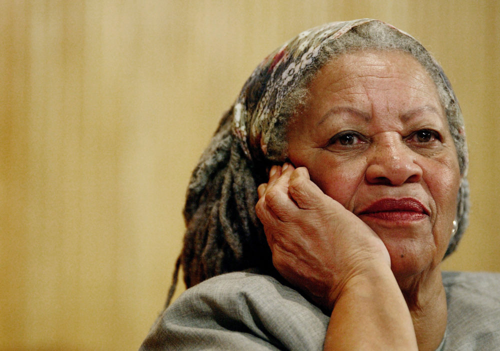 Author Toni Morrison in 2005. (Guillermo Arias/AP)