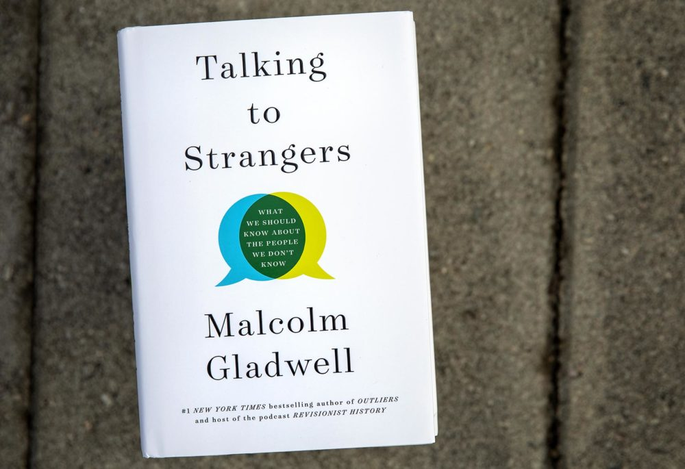 "In ""Talking to Strangers: What We Should Know About The People We Don't Know,"" journalist and author Malcolm Gladwell details stories of miscommunication that ended in tragedy. (Robin Lubbock/WBUR)"