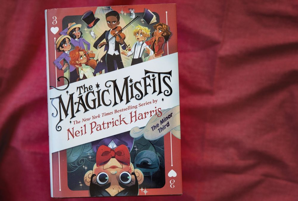 """The Magic Misfits - The Minor Third,"" by Neil Patrick Harris. (Robin Lubbock/WBUR)"