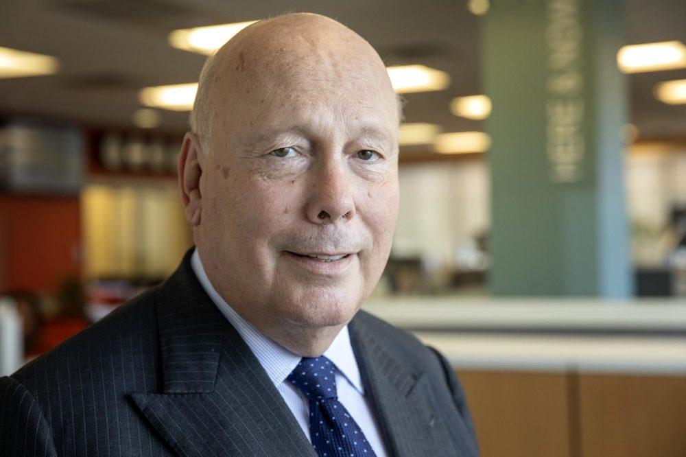 Julian Fellowes, creator of Downton Abbey. (Robin Lubbock/WBUR)