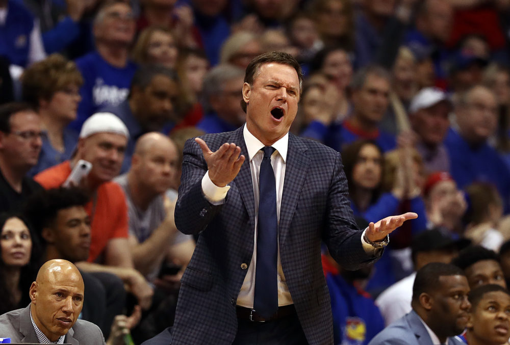 Kansas head basketball coach Bill Self. (Jamie Squire/Getty Images)