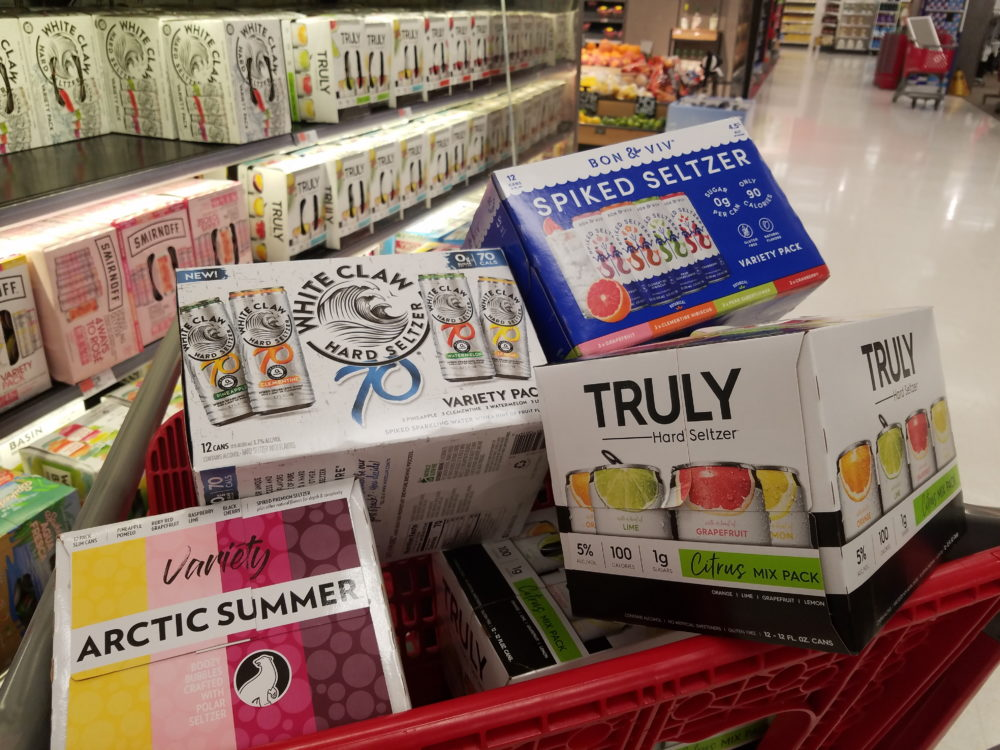 A variety of hard seltzer (Ciku Theuri/Here & Now)