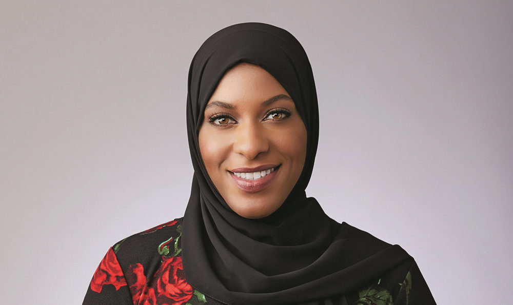 Author and Olympic medalist Ibtihaj Muhammad (Courtesy of Hachette Book Group, Inc.)