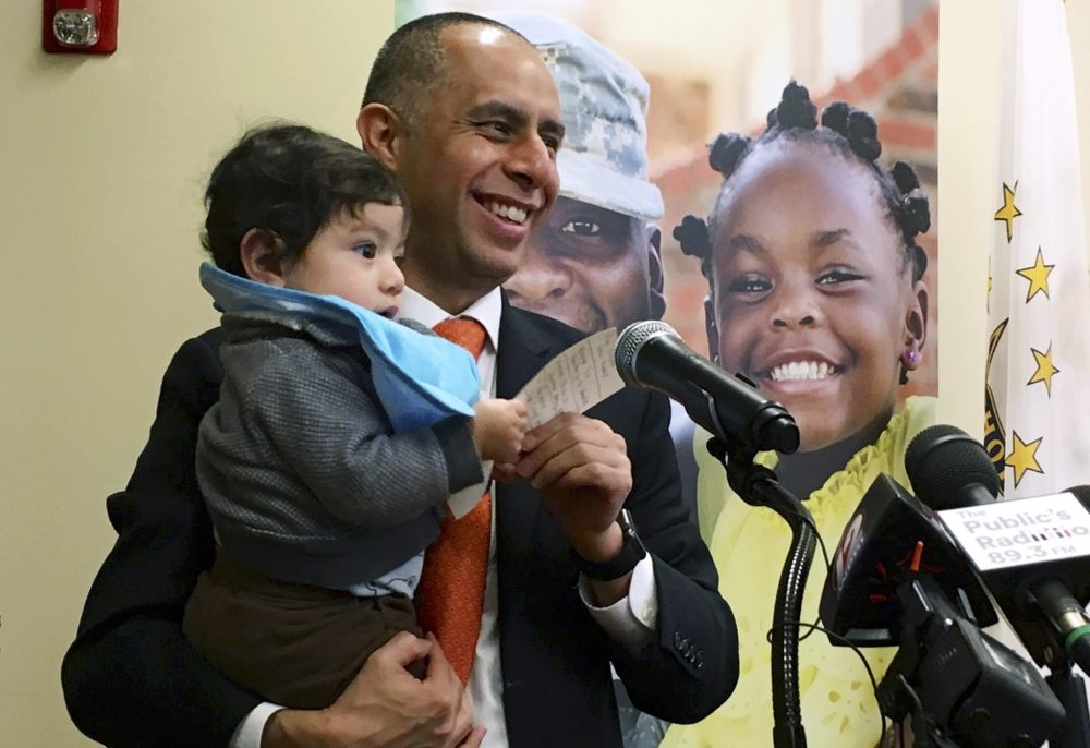Baby In The Office? Providence Mayor's Personal Workplace