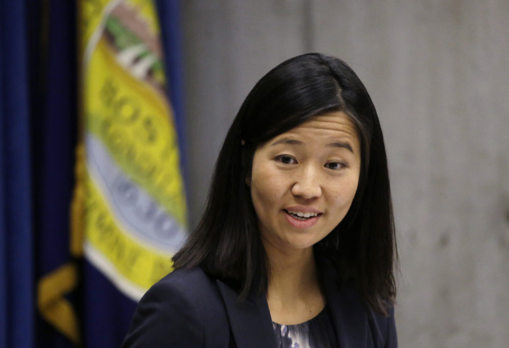 Boston City Councilor Michelle Wu, in a 2016 file photo (Elise Amendola/AP)