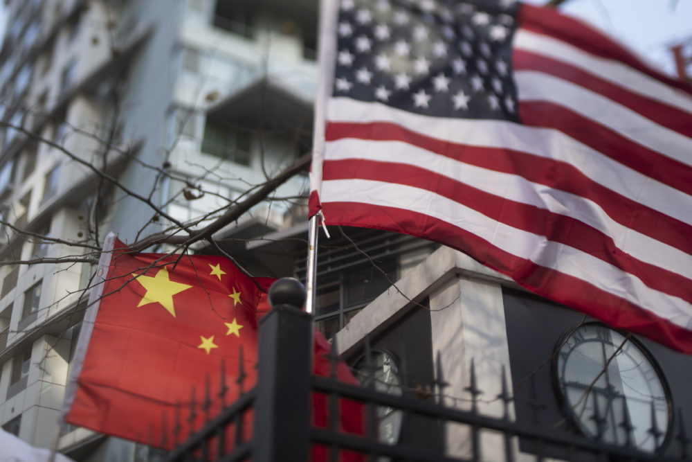 According to former Danish diplomat Jonas Parello-Plesner, China is not only perfecting its espionage game, but also expanding its influence around the world through other means. (Fred Dufour/Getty Images)