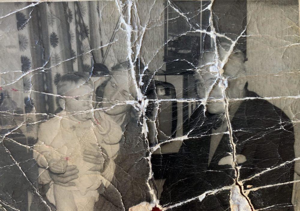 Alex's damaged family photo