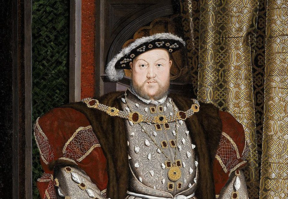 A portrait of King Henry VIII, by Hans Holbein the Younger. (Wikimedia Commons)