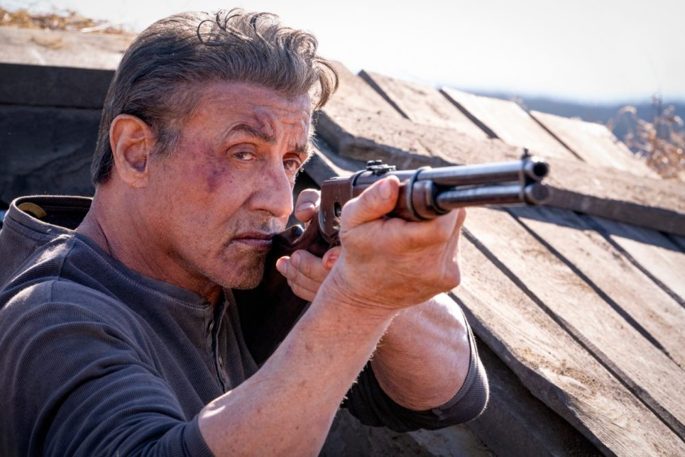 "Sylvester Stallone in ""Rambo: Last Blood."" (Courtesy Yana Blajeva)"