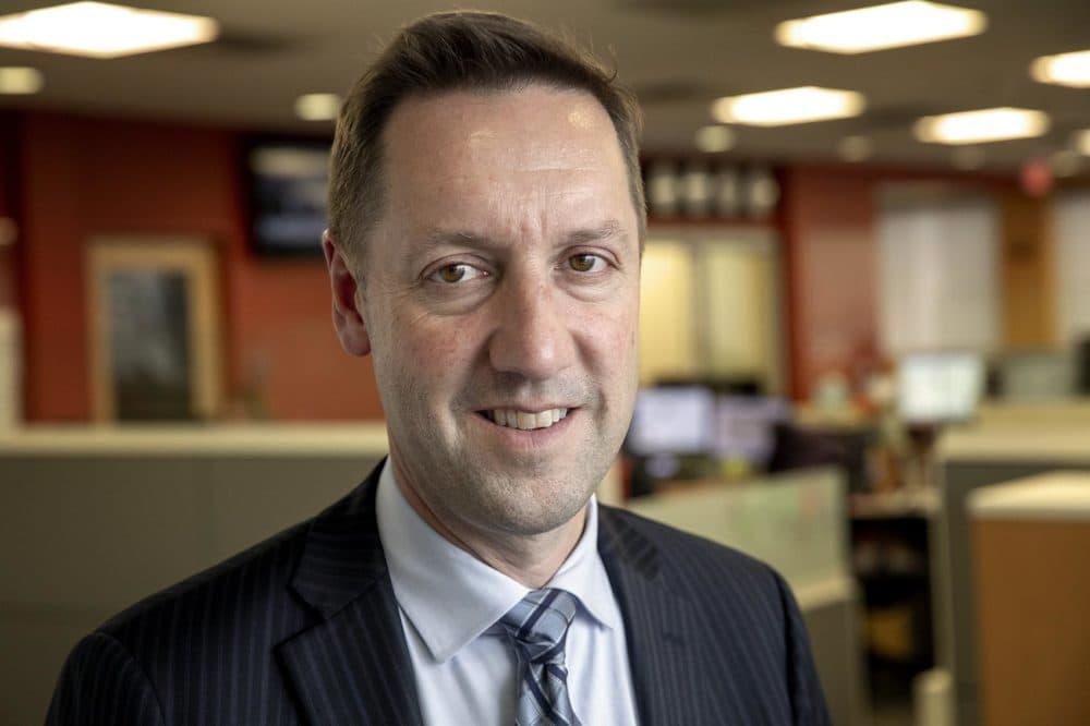 MBTA General Manager Steve Poftak. (Robin Lubbock/WBUR)