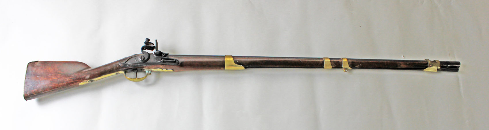 American colonist Private John Simpson is believed to have used this musket to fire the first shot in the Battle of Bunker Hill in 1775. (Courtesy Jonathan Holstein)