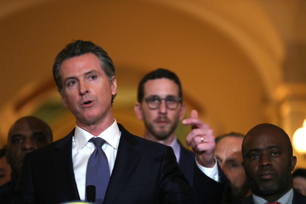 California Gov. Gavin Newsom. (Justin Sullivan/Getty Images)