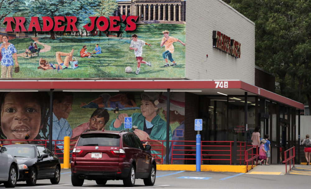 This is the Trader Joe's market in Cambridge, Mass. in August. (Charles Krupa/AP)