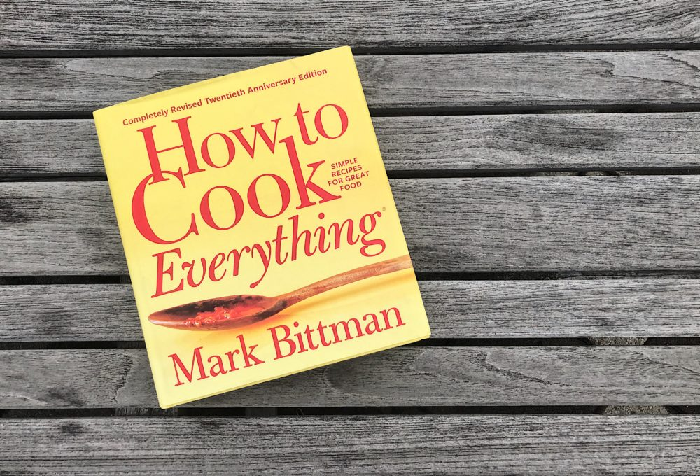 "Mark Bittman has released a 20th-anniversary edition of his iconic cookbook ""How To Cook Everything."" (Allison Hagan/Here & Now)"