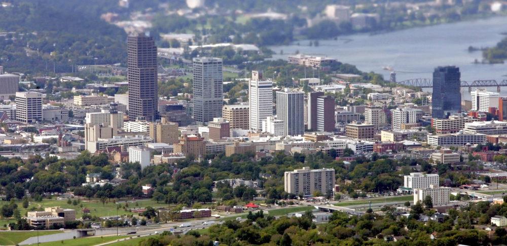 Downtown Little Rock, Arkansas. (Danny Johnston/AP)