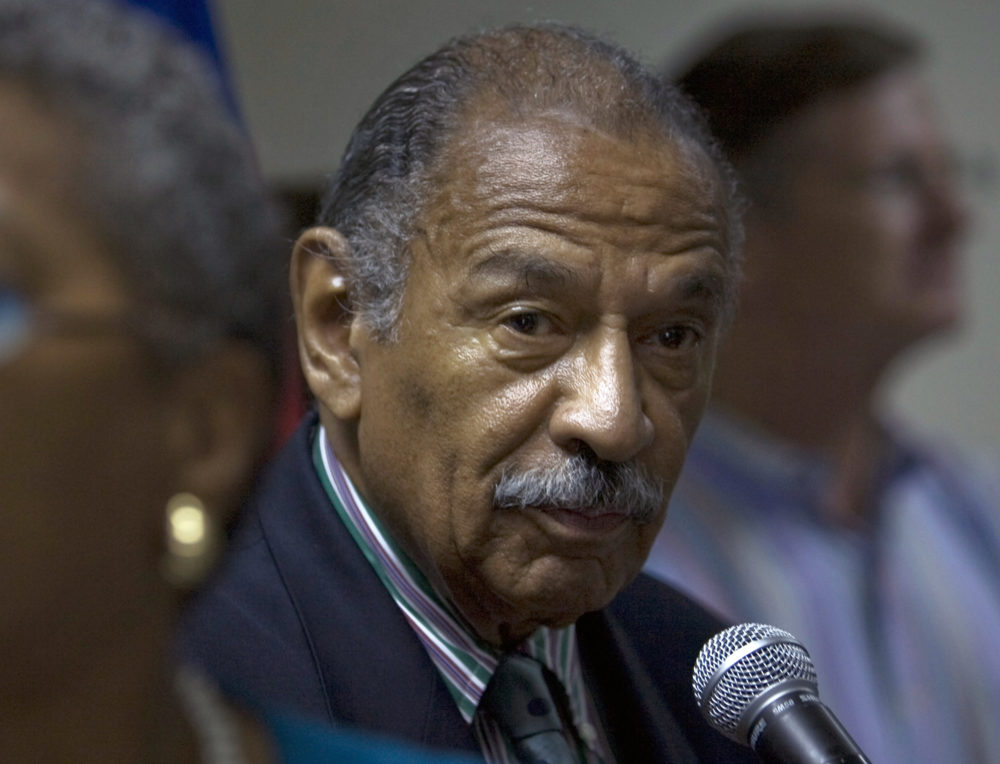 Former Rep. John Conyers Jr. died Sunday at the age of 90. (Ramon Espinosa/File/AP)