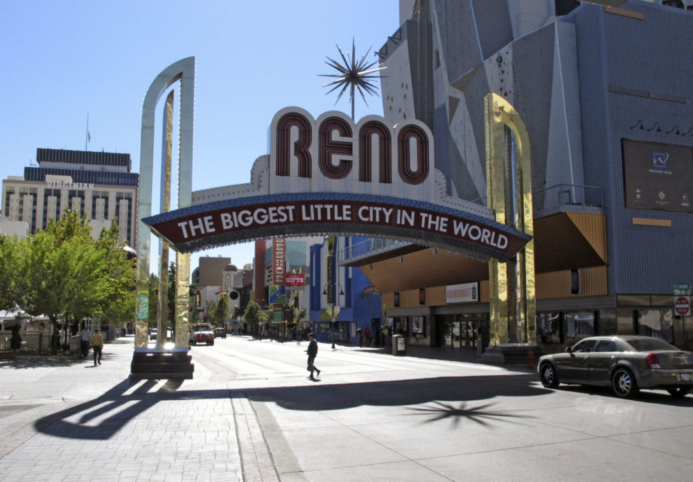 The city of Reno is trying to tackle the region's housing affordability crisis with a new housing development plan. (Scott Sonner/AP)
